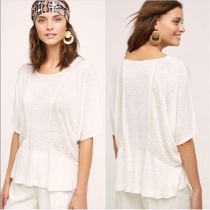 ANTHROPOLOGIE Akemi + Kin Batwing Sleeve Boho Top